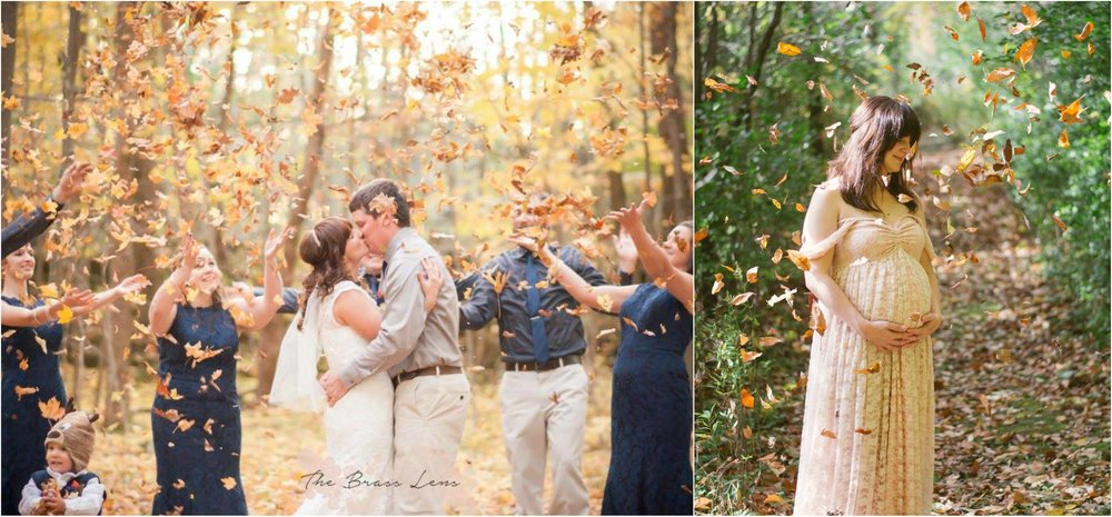 A Fall Wedding, and a Fall baby.