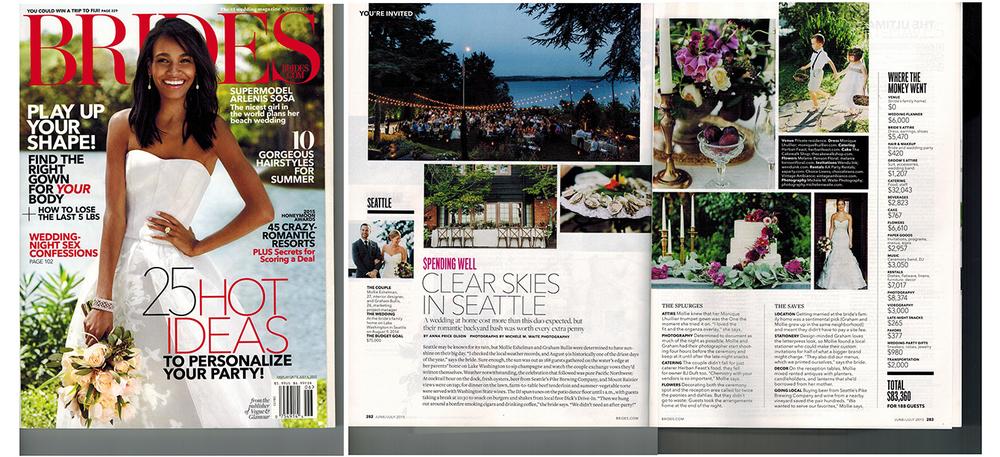 Event Success Featured in Brides Magazine