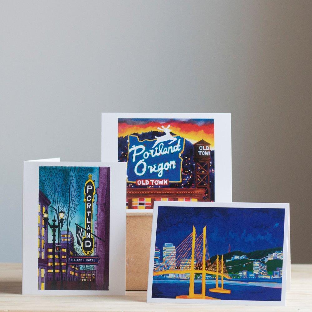 Portland Greeting Cards