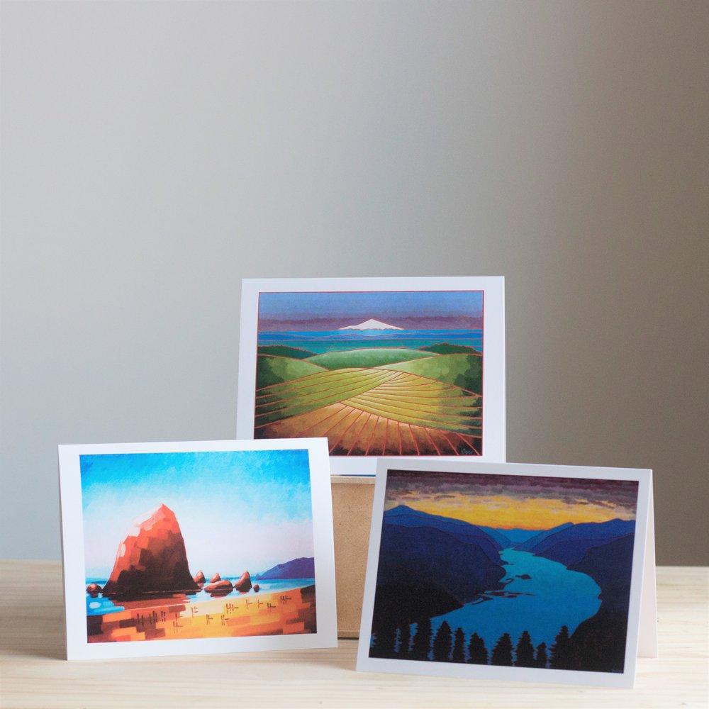 Landscape Greeting Cards