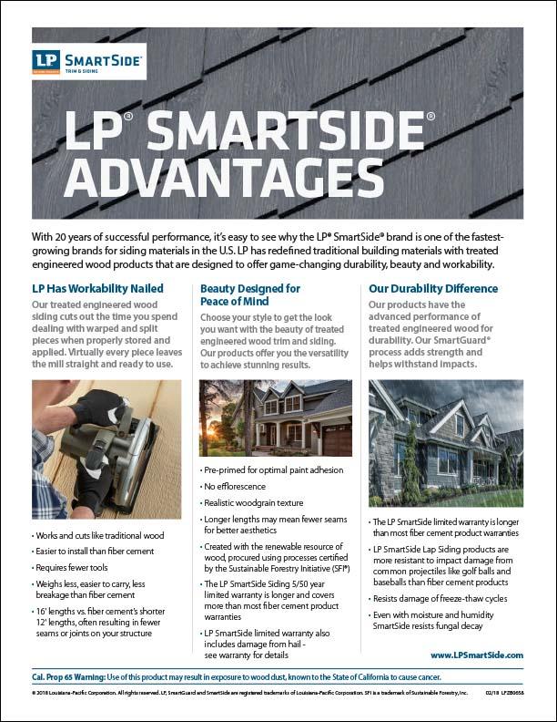 LP SmartSide Advantages
