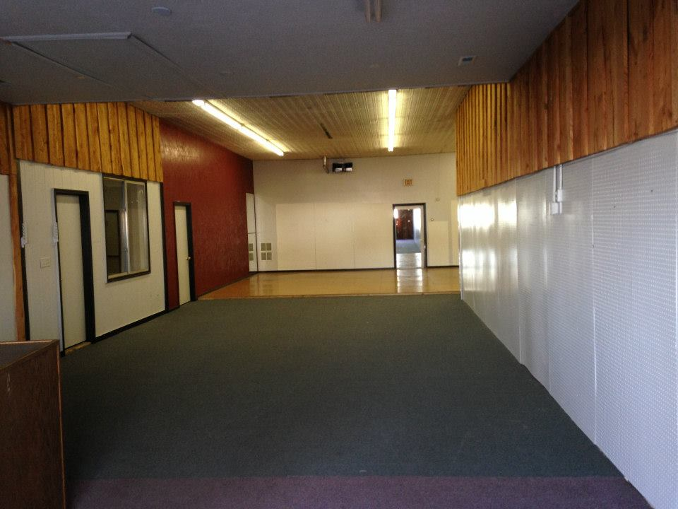 The Layout before Renovations Begin