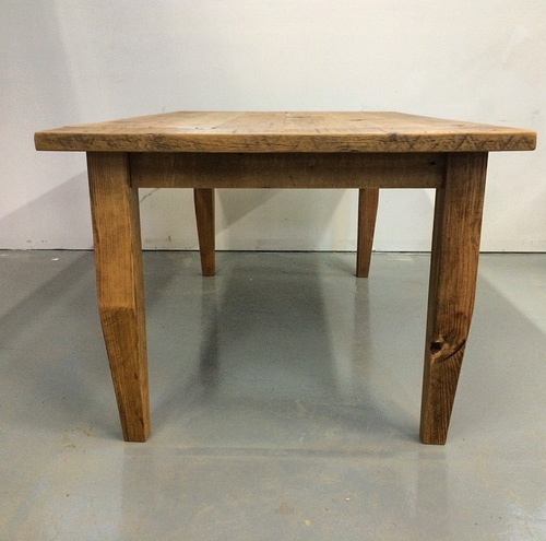 Old Growth Pine Plank Dining Table top Old Wood Soul