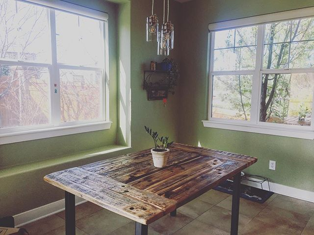 #diningtable #metalandwood #diningroomdecor #handmade #design #interiordesign #custom #reclaimedwood #reclaimed #salvagedwood #barnwood #dowoodworking #distressed #oldwood #woodworking #denver #colorado #5280 #madetomake