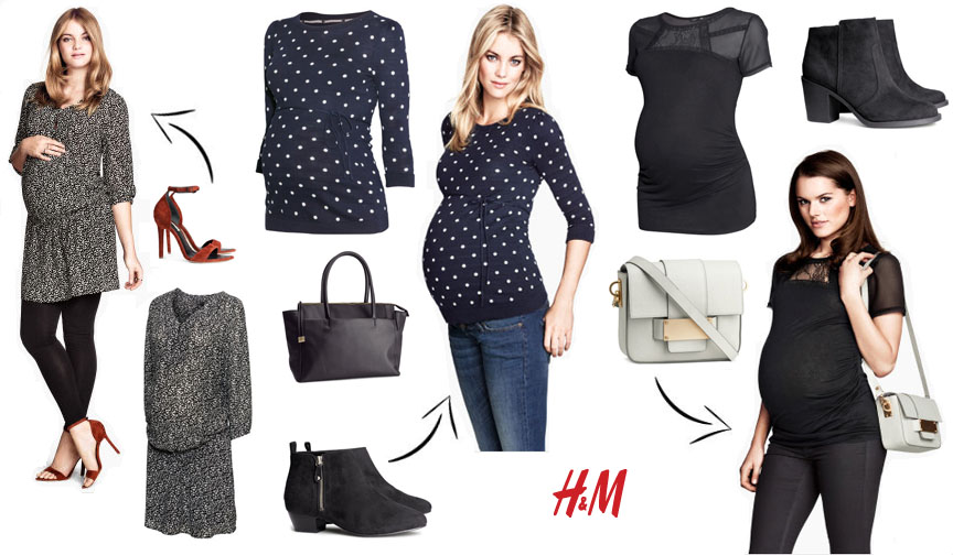 <h3>H&M Maternity</h3> Great for the wardrobe essentials - basic tees, jeans and fun tanks.