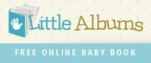 <h3>Little Albums</h3> Never miss a moment with this online baby book.