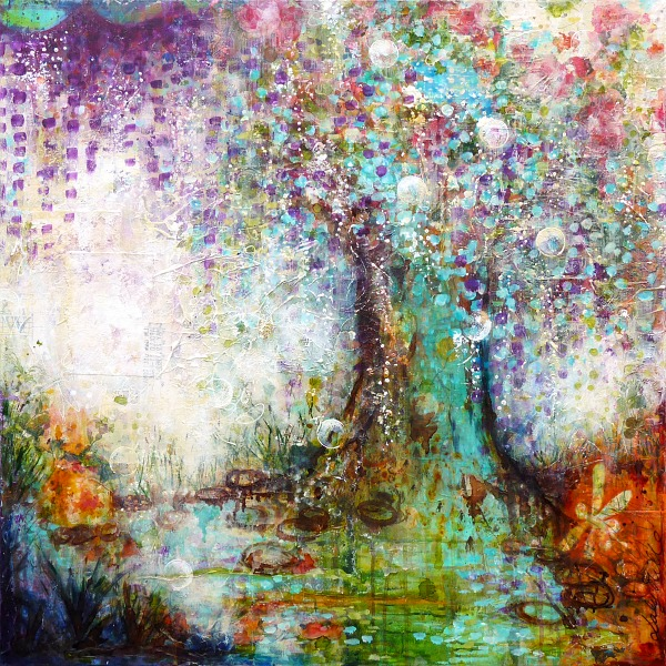 L 39 arbre aux souhaits nouvelle vie nouveau tableau laly mille - L arbre a souhait ...