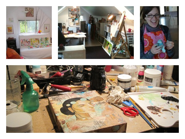 Ginger studio Collage