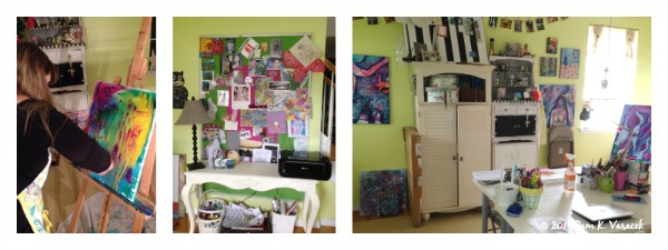 Pam's creative space