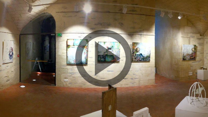 Laly Mille Solo Show - Virtual Tour
