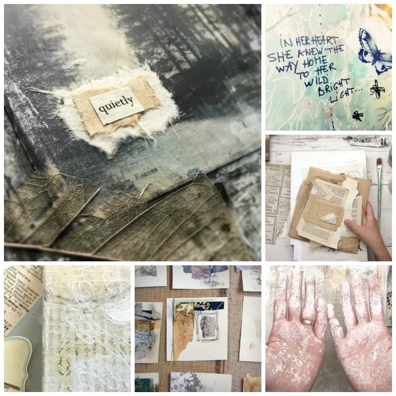 Layers of Light Mixed Media Painting Workshop with Laly Mille