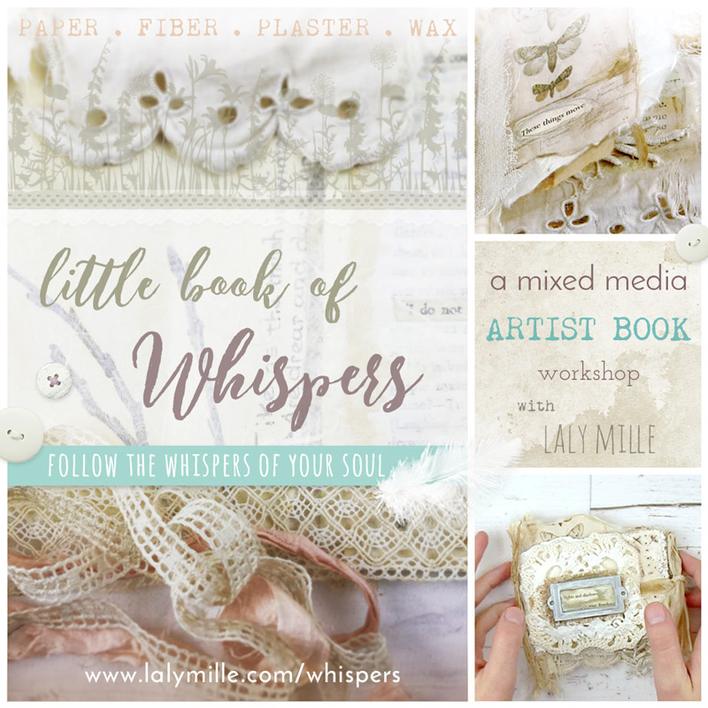 Little book of whispers by Laly Mille