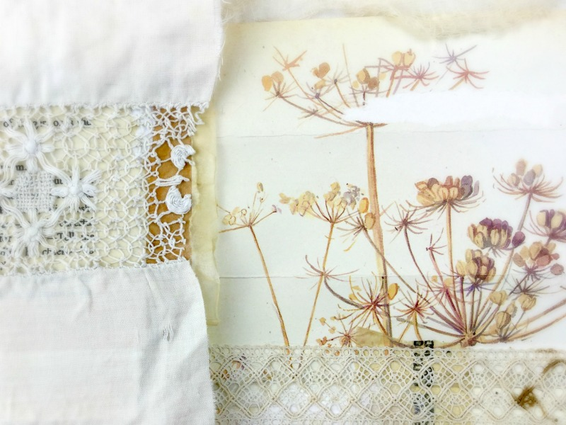 Little book of Whispers - Artist Book & Art Journaling Workshop with Laly Mille