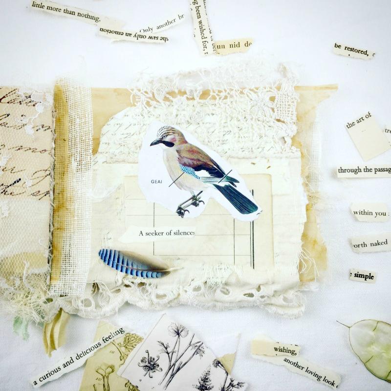 """Seeker of silences"" - Little Book of Whispers, page in progress"