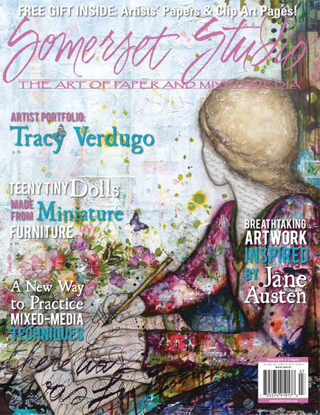 Cover art for the Summer 2014 issue of Somerset Studio Magazine