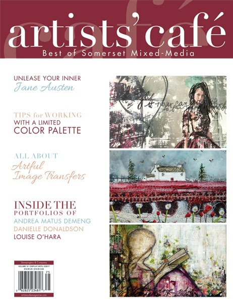 2016 - Vol 10 of Arstists' Café Magazine, Stampington