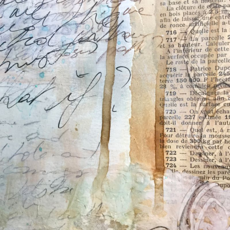 "Laly Mille - ""Book of Days"" art journal, first page..."