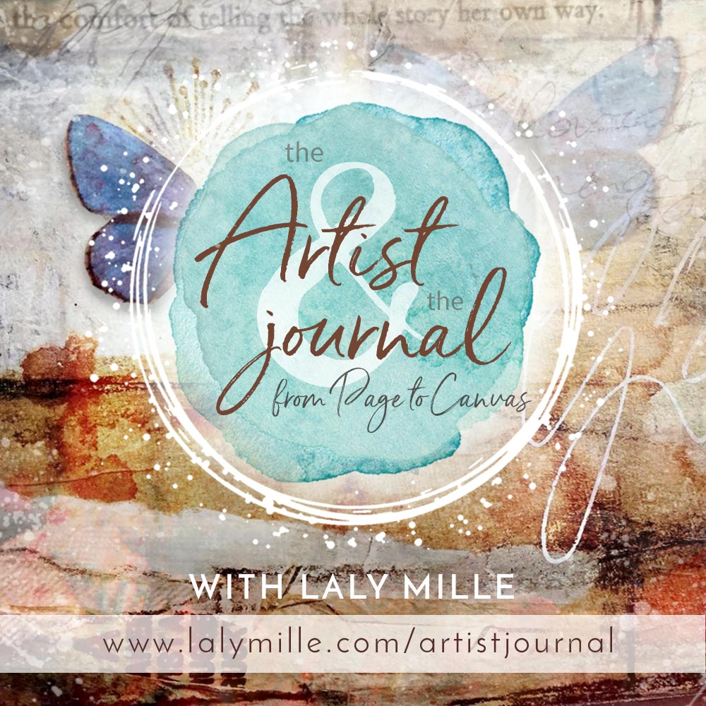 The Artist & the Journal online class with Laly Mille