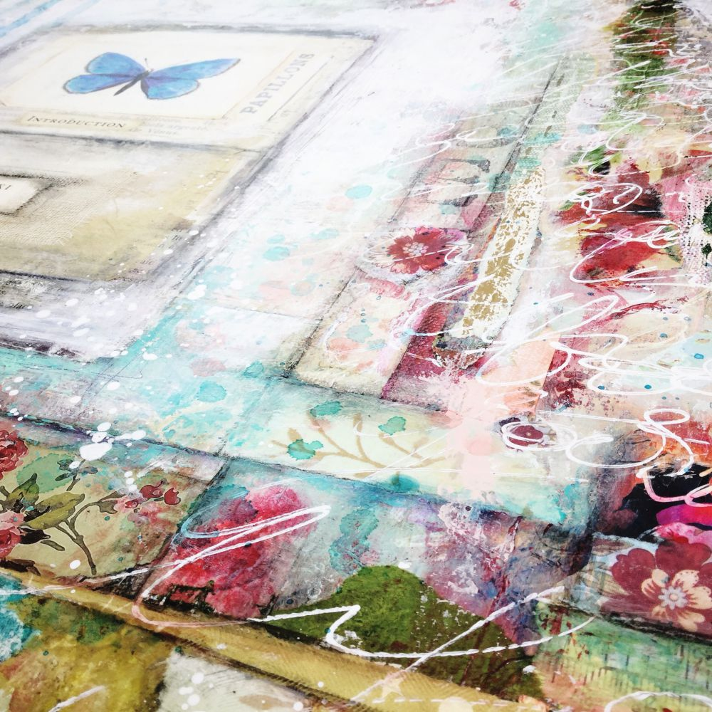The Artist & the Journal - Mixed Media Painting and Art Journaling Workshop with Laly Mille