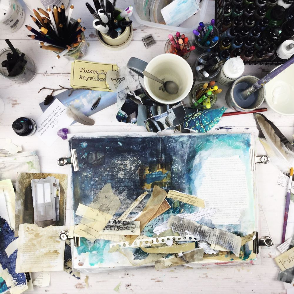 Laly Mille - The Artist & the Journal Online Class