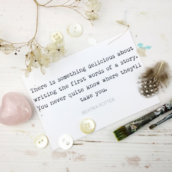 Beatrix Potter quote - Laly Mille