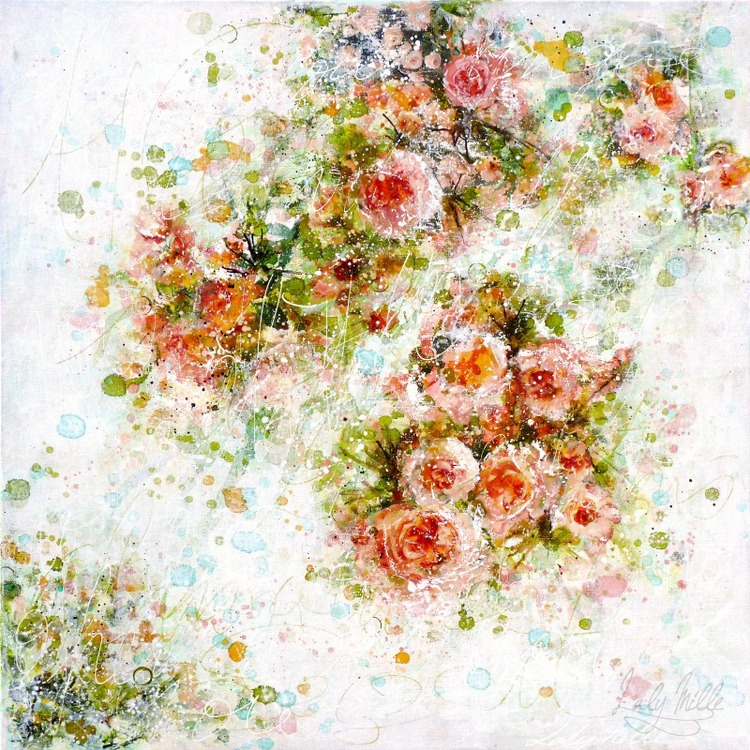 Laly Mille - Abstract Roses 2