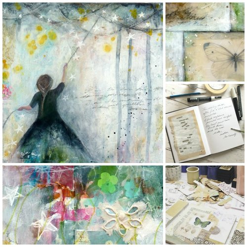 Layers of Light - Atelier de Peinture Mixed Media avec Laly Mille