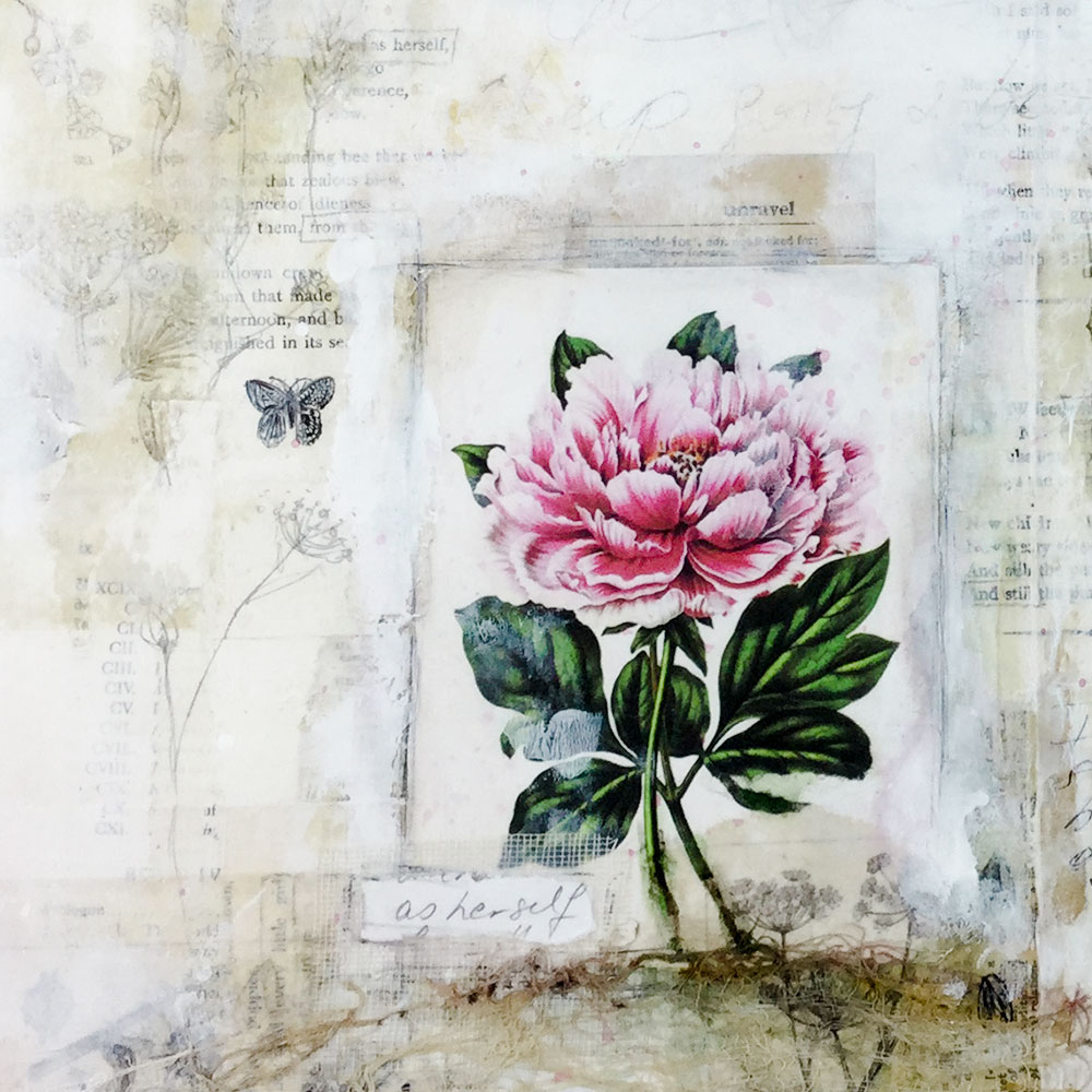 The Poetic Botanist - Art journaling lesson with Laly Mille for 21 Secrets The Great Outdoors