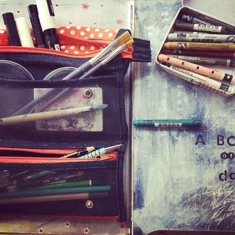 Journal d'Artiste, kit de voyage - Laly Mille