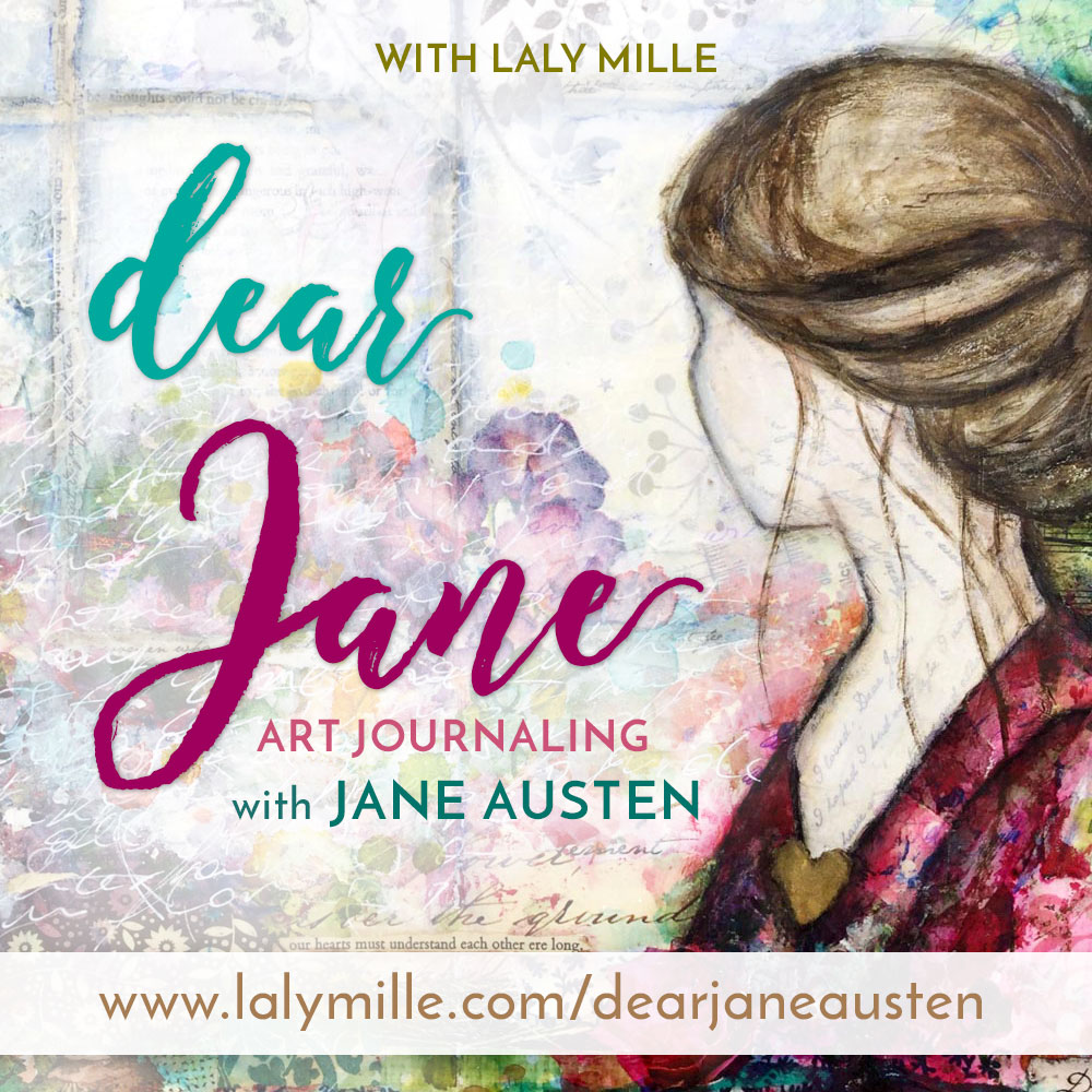 0aeb5948dc Dear Jane - Art Journaling with Jane Austen