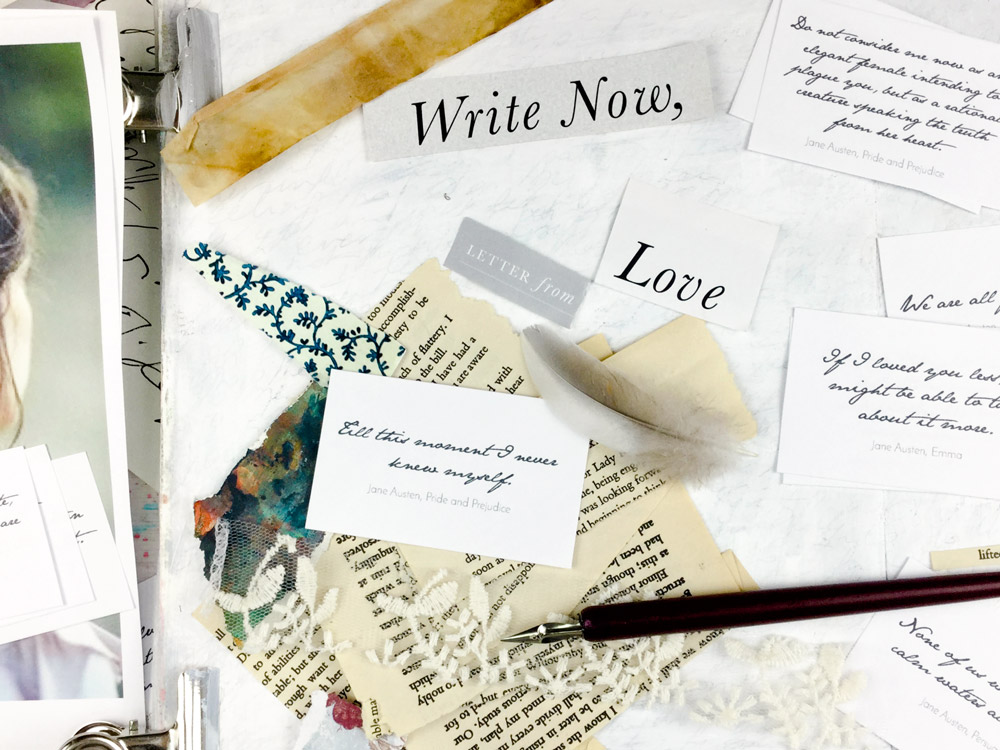 Dear Jane Austen - Online Art Journaling Class with Laly Mille