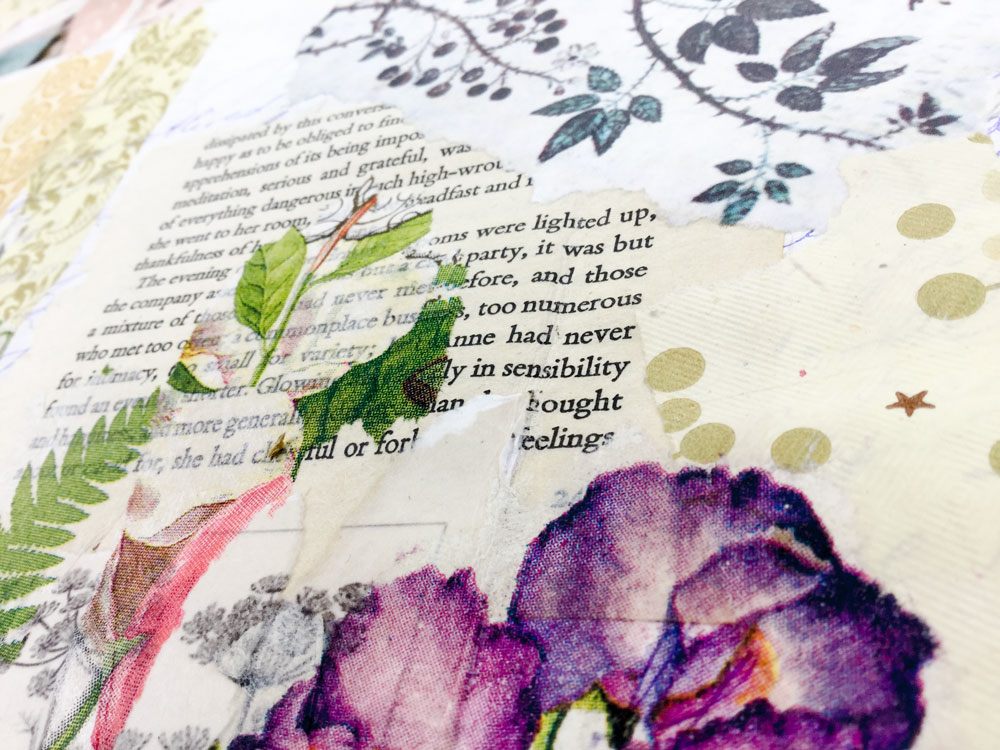 """Dear Jane"" - Art Journaling with Jane Austen, Online Art Class with Laly Mille"