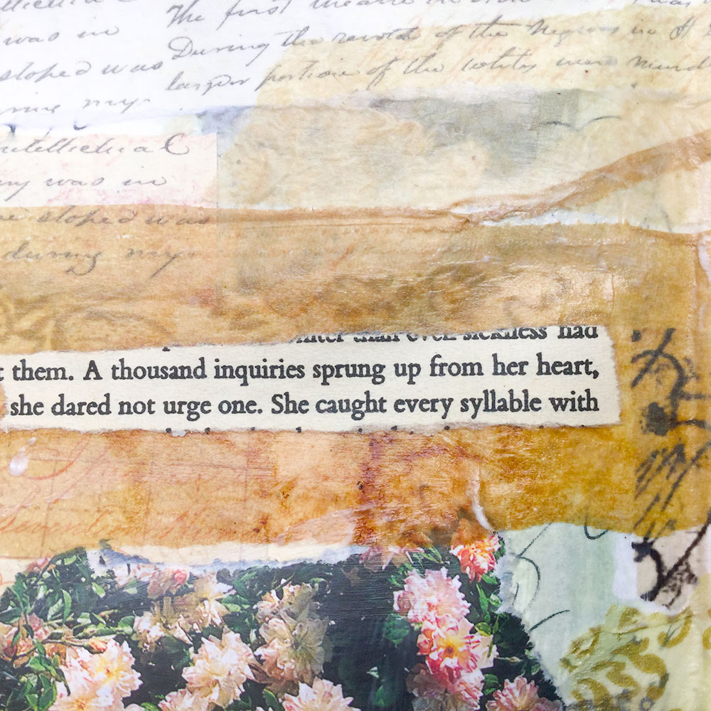 Laly Mille Art Journal Page