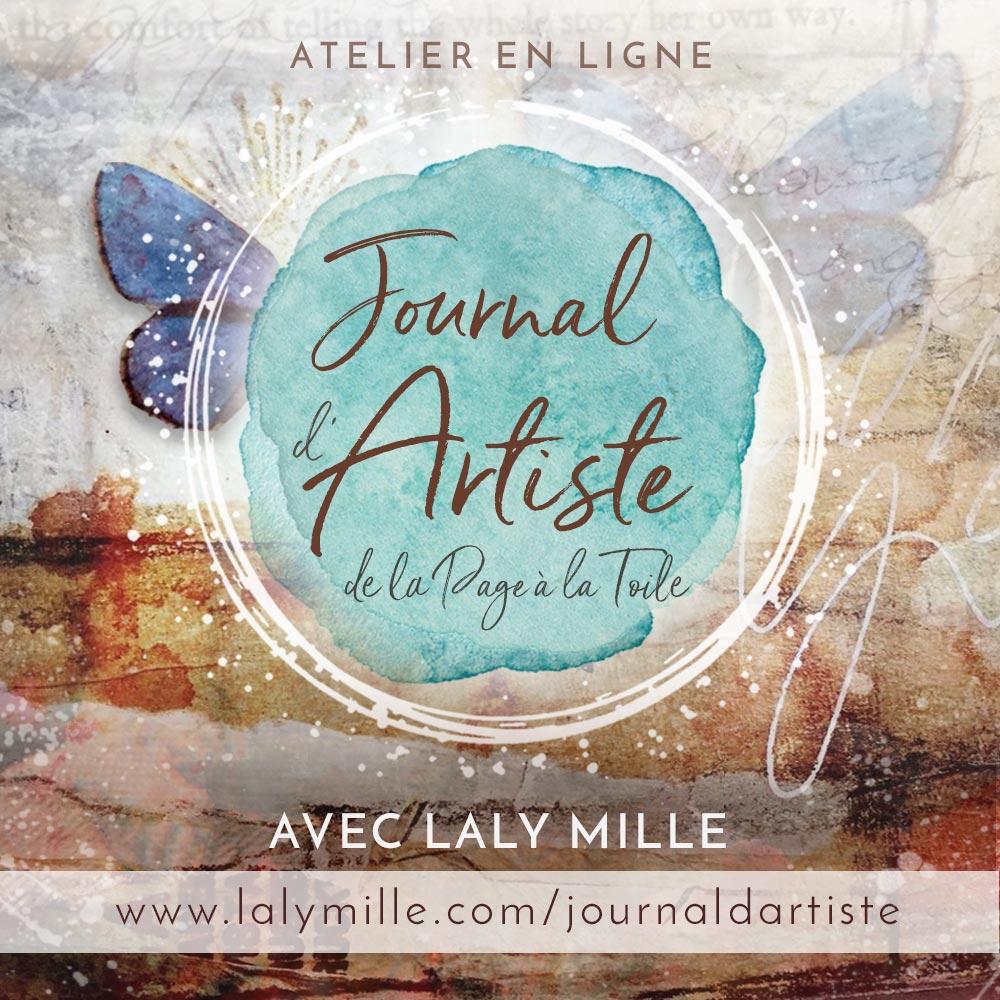 Atelier Journal d'Artiste avec Laly Mille