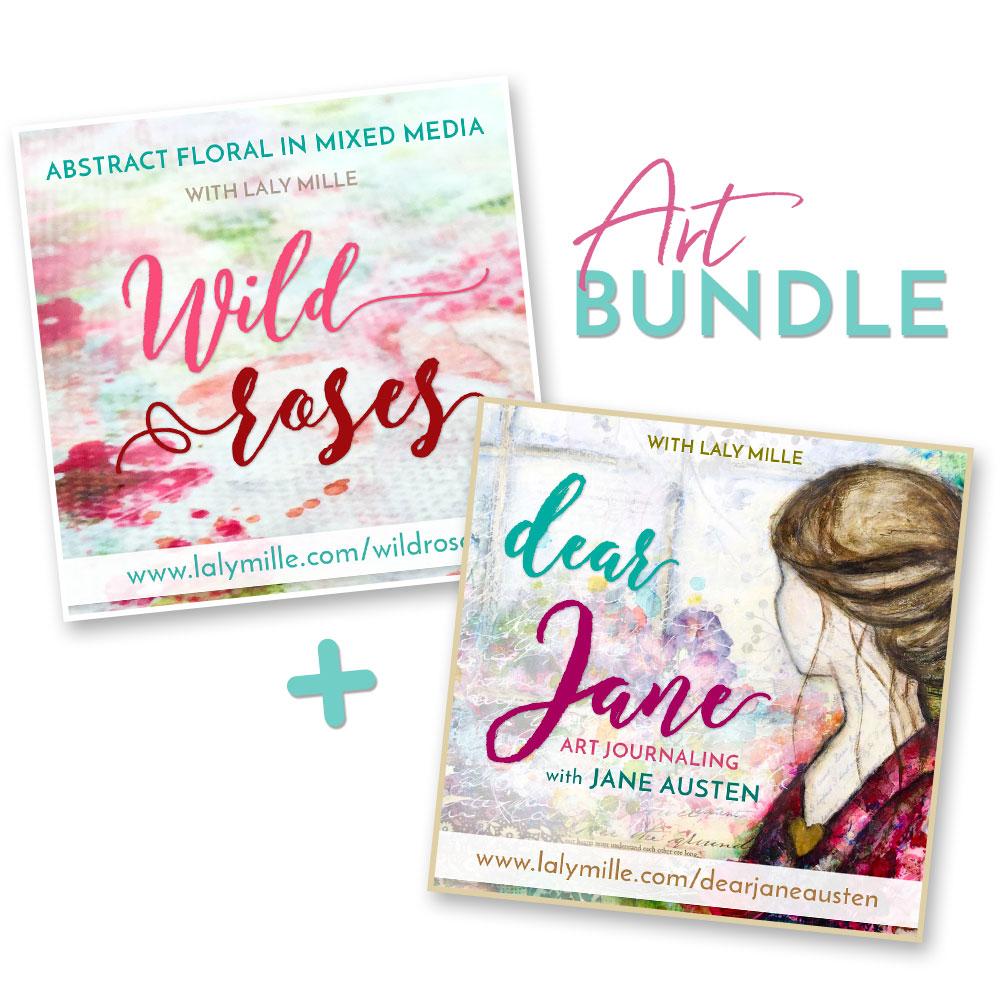 Dear Jane and Wild Roses art workshops bundle offer