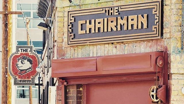 Happy Saturday! The Chairman Restaurant will be closed today and reopening on Monday November 12.  Sorry for the inconvenience.