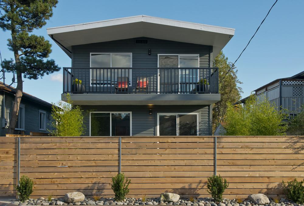 Mid-Century Modern Duplex