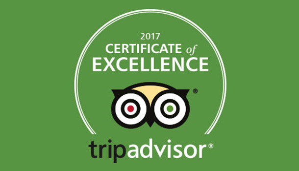 Certificate of Excellence 2017 -