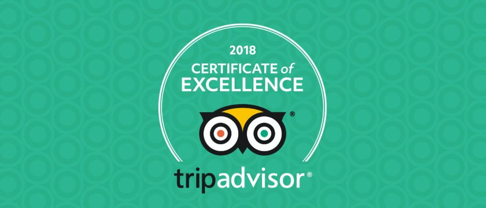 Certificate of Excellence 2018 -