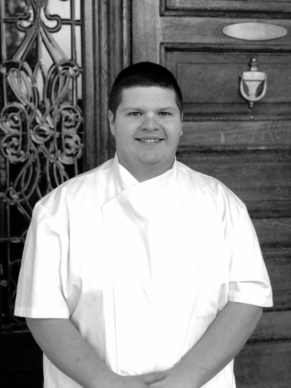 Jacoby Dinges - Executive Pastry ChefA local of the Valley, Jacob Dinges had humble beginnings with a degree in Culinary Arts from a local vocational school, Tripplet Tech. Shortly after graduating, Jacoby attended the Culinary Institute of America to hone his skills in pastry baking and service management. Shortly thereafter, Jacoby took his talent abroad to Saarbrucken, Germany where he worked constructing intricate dishes for a three Michelin star restaurant, Gästehaus Klaus Erfort. After enjoying his time abroad, Jacoby returned to the Valley and worked as the lead Pastry Chef for Bella Gelato, before coming to the Joshua Wilton House in October of 2018. We are happy to have Jacoby join our team; his desserts express an elegance and refinement worthy of such a historic and influential home.