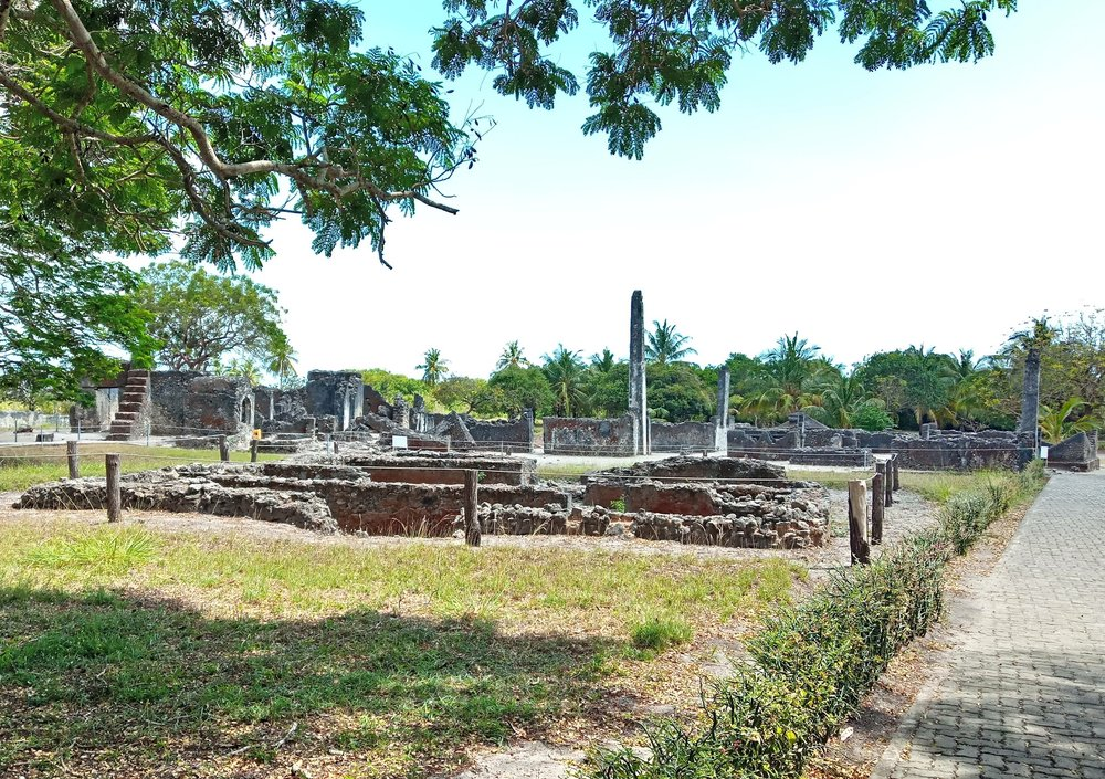 The Site   The site of Kaole dates back to the 8th Century AD. The main period of occupation was from AD1400-1800, and the ruins contain 22 tombs and two mosques, including what is likely the oldest mosque on the East African Mainland. However, because of poor relationships with the local community the site still suffers from destruction from encroachment and unsustainable use of the site.