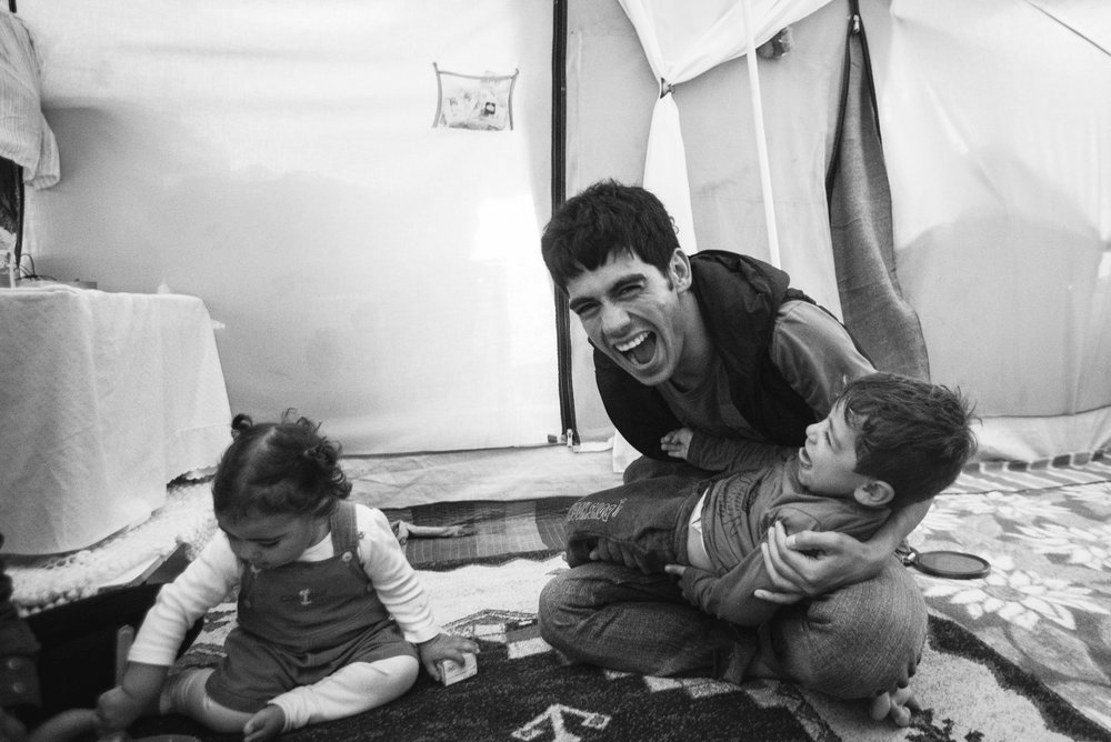Tamim has since left Oinofyta with his family. His tent burned a few days into December 2016, and the family settled in a Syrian camp for a couple months. It was a cabin with heating, air, and running water. Even though Tamim knows 6 languages, Arabic isn't one of them, which  makes it difficult. February 15, 2017 he texted to inform me that they are now living in an apartment in Athens. There might be an unofficial agreement at play because in order to rent an apartment, one must have a bank account, and to have a bank account, one must have an address. He's learning Greek, and at the moment, he is glad he did not try to cross the border into Serbia like others had—the plan can change in a day, but as of now, he is working towards building a future in Greece.
