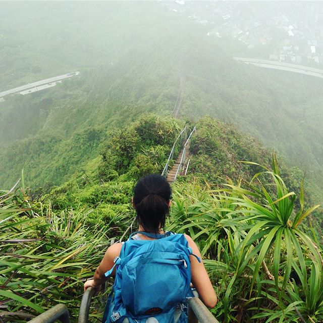 #TBT - Haiku Stairs (Stairway to Heaven) Oahu, 2013