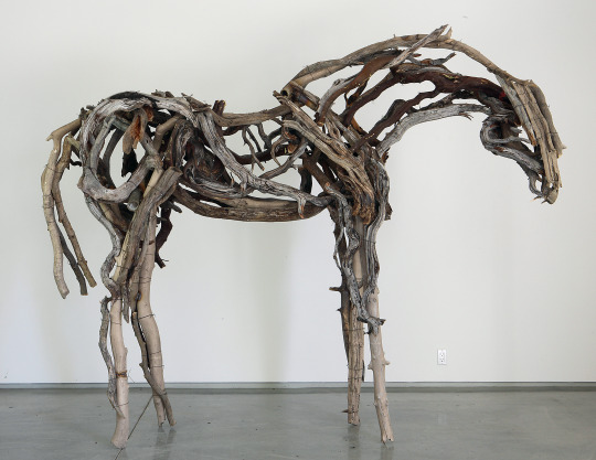 "Deborah Butterfield,""Silver Bow"" (2010). Image credit:Purdue University."