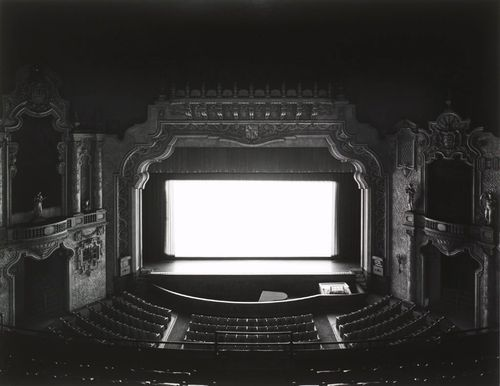 "Hiroshi Sugimoto, ""Canton Palace, Ohio"" (1980). Image credit: My So-Called Luck."