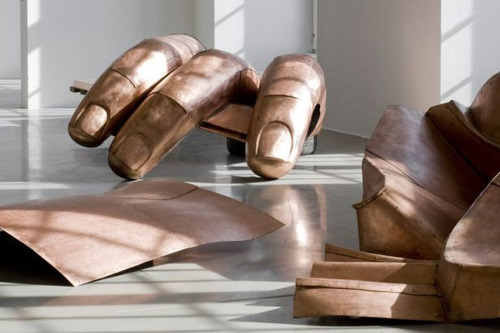 "Danh Vo, ""WE THE PEOPLE (detail)"" (2011). Image credit:  e-flux ."