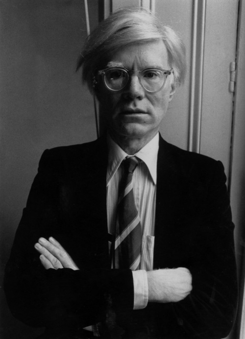 Andy Warhol. Image credit: Global Grind.