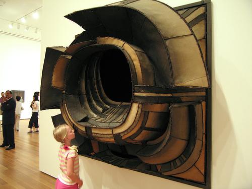 """Lee Bontecou, """"Untitled"""" (1961). Image credit:BLCKSMTH Design."""