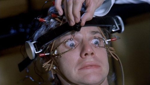 "Still from ""A Clockwork Orange"" (1971). Image credit: 201 Movies."