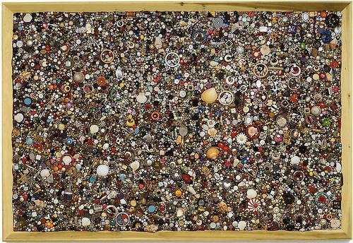 """Mike Kelley, """"Memory Ware Flat #35"""" (2003). Image credit:Skarstedt Gallery."""
